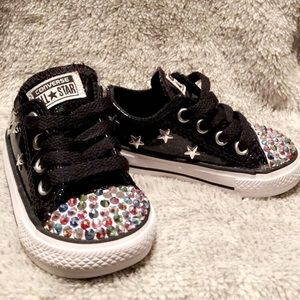 Customized Toddler Converse sz 3